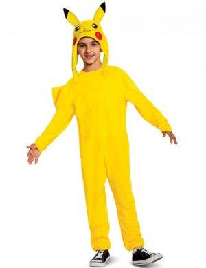 Pikachu Deluxe Boys Pokemon Costume