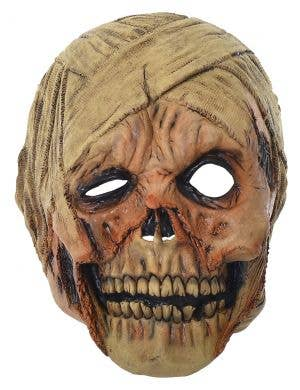 Decaying Mummy Scary Deluxe Full Head Halloween Mask