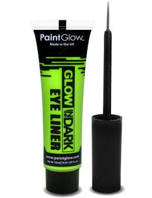 Neon Green Glow In The Dark Eyeliner Base Image