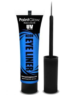 Neon Blue UV Reactive Eyeliner Base Image