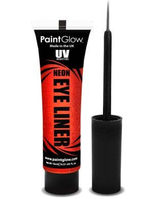 Neon Red UV Reactive Eyeliner Base Image