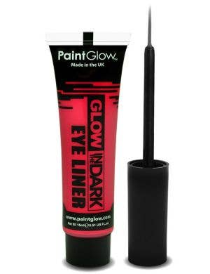 Neon Red Glow In The Dark Eyeliner Base Image