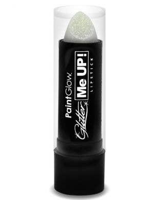 White Glitter Lipstick Base Image