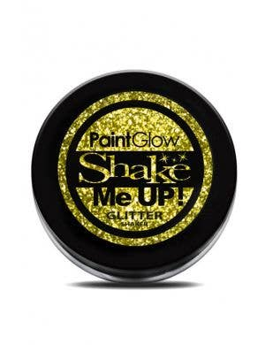 PaintGlow Gold Body Glitter Shaker Costume Makeup