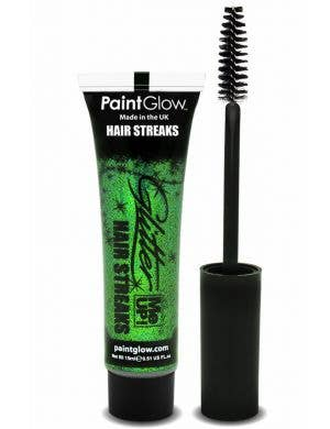 Glitter Me Up Green Hair Streak Mascara Base Image