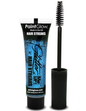 Glitter Me Up Blue Hair Streak Mascara Base Image