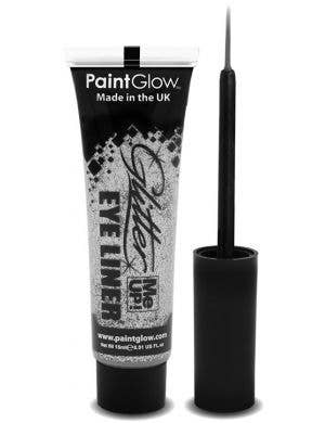 Silver glitter me up eyeliner base image
