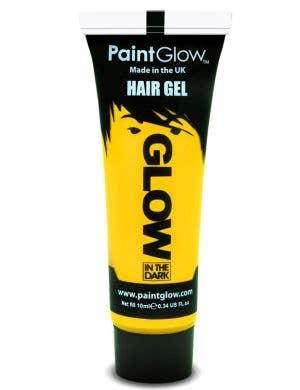 Yellow Glow In The Dark Hair Gel Base Image