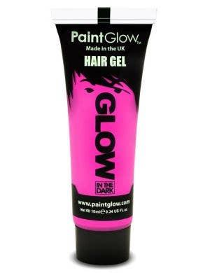 Pink Glow In The Dark Hair Gel Base Image