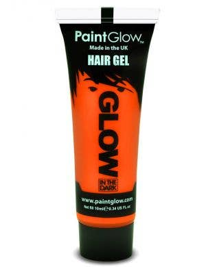 Orange Glow In The Dark Hail Gel Base Image