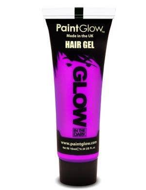 Violet Glow In The Dark Hair Gel Base Image