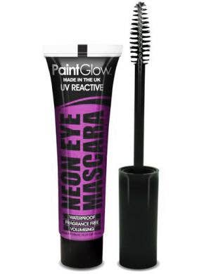 Eyelash Mascara UV Reactive Special Effects - Neon Purple