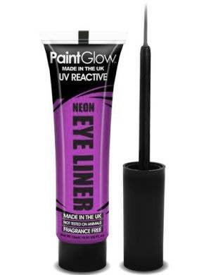 UV Reactive Eyeliner - Neon Purple