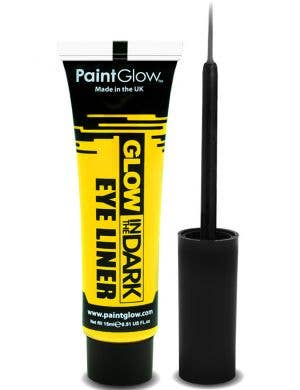 Neon Yellow Glow In The Dark Eyeliner Base Image