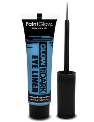 Neon Blue Glow In The Dark Eyeliner Base Image