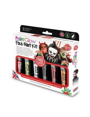 Halloween Face Paint Makeup Kit in 6 Colours