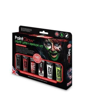 Liquid Latex and Blood Horror Halloween Makeup Kit