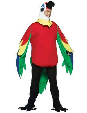 Men's Parrot Tropical Fancy Dress Costume Main