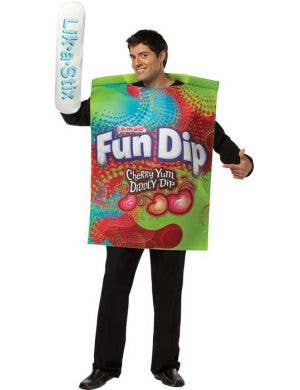 Men's Novelty Fun Dip Candy Fancy Dress Costume Main