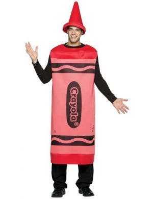 Crayola Adults Novelty Red Crayon Costume