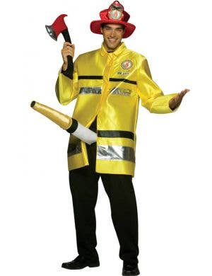 Men's Hilarious Fire Extinguisher Fancy Dress Costume Main