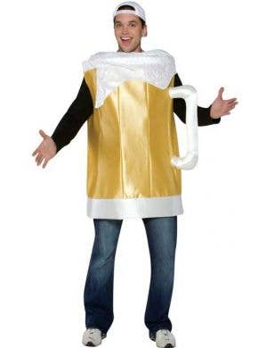 Men's Novelty Beer Mug Fancy Dress Costume