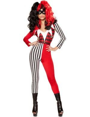 Mischievous Jester Women's Fancy Dress Costume