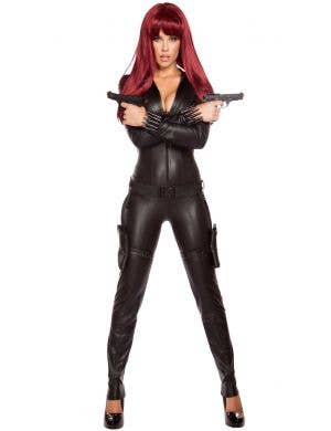 Alluring Assassin Women's Sexy Black Widow Costume