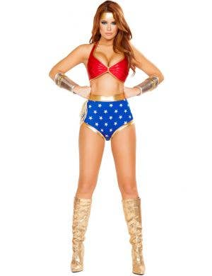 Mighty Comic Hero Wonder Woman Sexy Costume