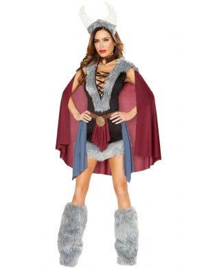 Shield Maiden Women's Sexy Deluxe Viking Costume