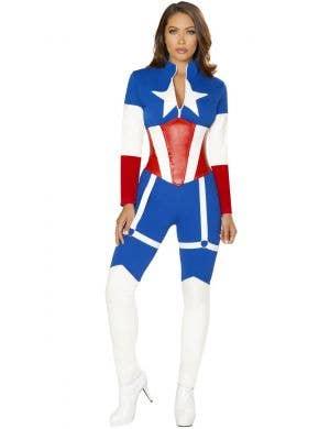 Miss America Commander Women's Sexy Costume