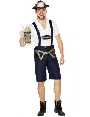 Oktoberfest Beer Bud Men's German Costume
