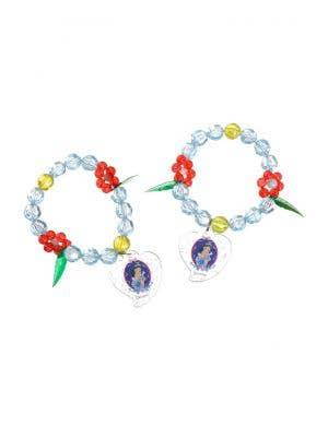 Disney Snow White Princess Girl's Bracelet Set Costume Accessory