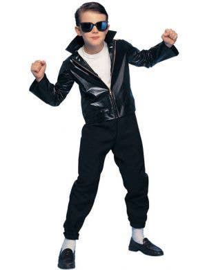 Boys 1950's Greaser Fancy Dress Costume