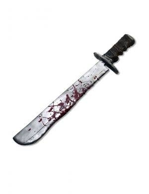 Jason Voorhees Blood Splattered Costume Machete