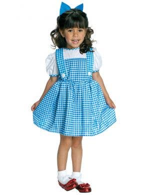 Wizard Of Oz Toddler Girls Dorothy fancy Dress costume front view