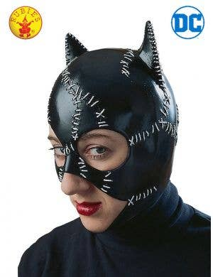 Classic Catwoman Adult's Latex Costume Mask