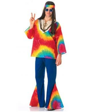 Psychedelic Sam Men's Hippie Costume