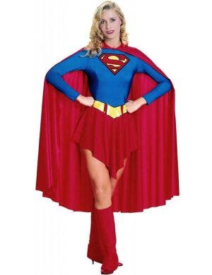 Classic Supergirl Women's Superhero Costume