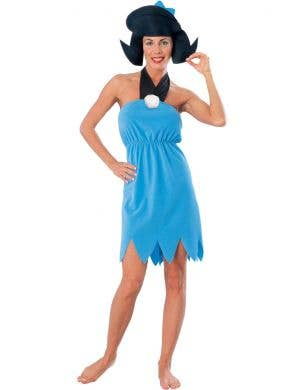 Betty Rubble The Flintstones Womens Fancy Dress Costume