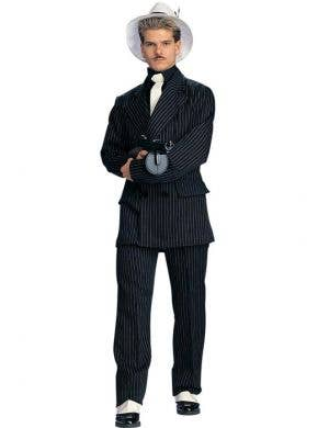 Pinstriped Men's 1920's Gangster Costume