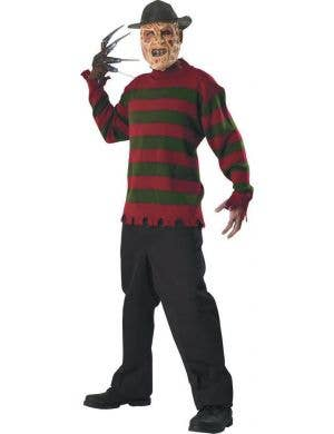 Men's Freddy Krueger Nightmare on Elm St Halloween Costume Main Image