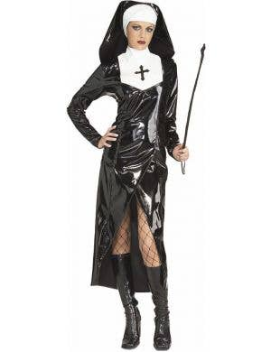 Mother Superior Nun Sexy Womens Fancy Dress Costume