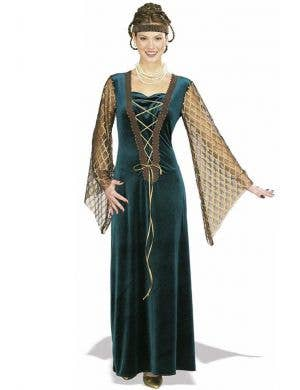 Queen Guinevere Medieval Women's Fancy Dress Costume