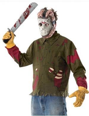 Men's Friday the 13th Jason Voorhees Costume Kit Main Image