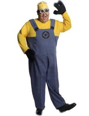 Plus Size Men's Despicable Me Minion Fancy Dress Costume