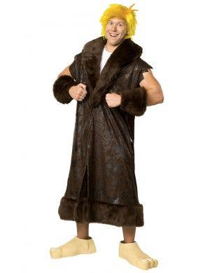 Men's Barney Rubble Licensed Plus Size Costume - The Flintstones