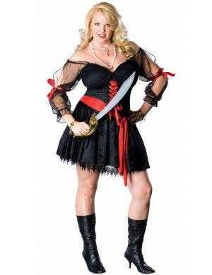 Plus Size Pirate Sexy Women's Fancy Dress Costume