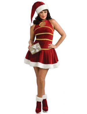 Santa's Helper Sexy Plus Size Christmas Costume