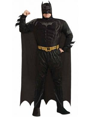 Plus Size Men's Dark Knight Batman Costume Front View